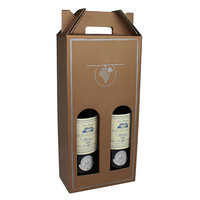 glass protective bottle carry case wine carrier packaging