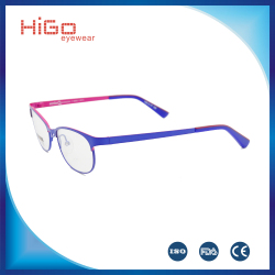 Latest Design Popular Stainless Steel sports eyewear metal fashion glasses frame