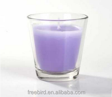 Glass Soy Scented Candle Handmade and Long Burning Time