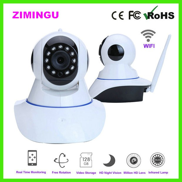 Smart Home WIFI Camera with Phone Alarm Function Baby/Elder Moniter Wifi Camera