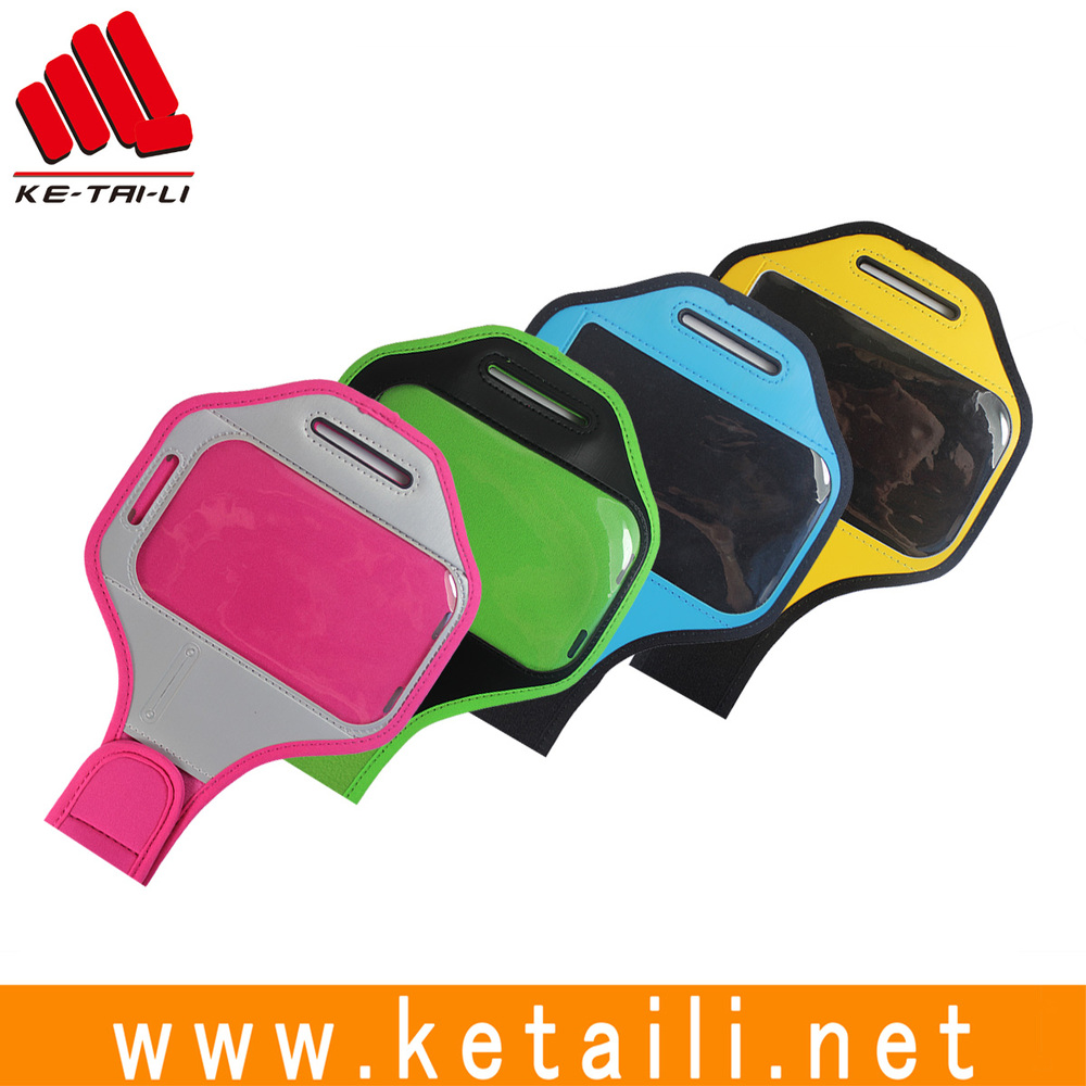 2016 new products waterproof sport armband jogging case for mobile phone, customized soccer captain armband