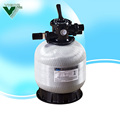 swimming pool Top Mount filter gravity sand filter aqua sand filter