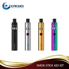 Smok 1600mAh ecigarette 2017 hot selling 2ml Smok Stick Aio kit from Cacuq