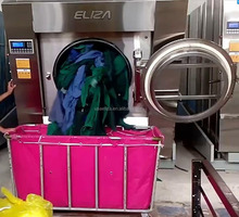 ELIZA SXT1500FZQ 150kg Washer Extractor Industrial Forward Tilt Shanghai Manufacturer