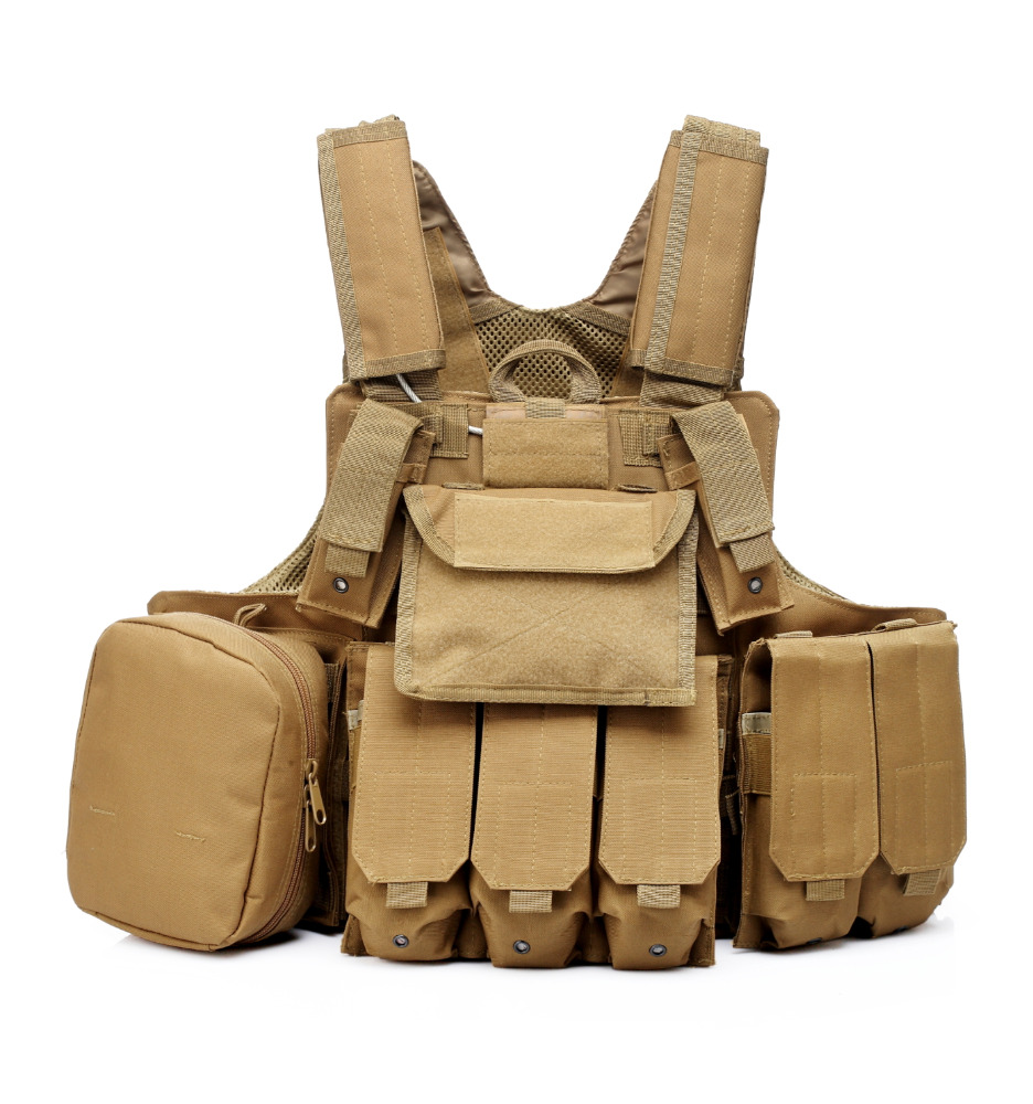 military AK 47 pouch tactical hunting vest body armor paintball vest