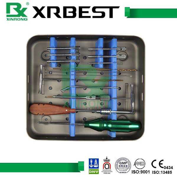 small bone fracture surgical instrument set orthopedic instrument