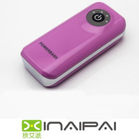 Universal portable power bank 5200mah for All mobile phones Ideal partner for your trip
