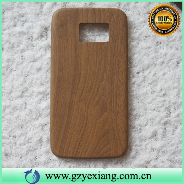 For Galaxy S6 Edge Wood Mobile Case, 0.8MM Ultra Slim Case For Samsung S6 Edge