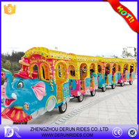 Used shopping mall mini trackless train indoor playground electric train for sale