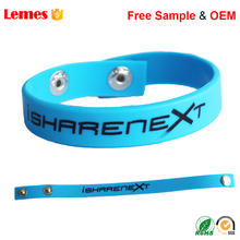 Thailand Egypt Eco Friendly Bulk Cheap Free Sample Glow in the Dark Custom Adjustable Silicone Wristband