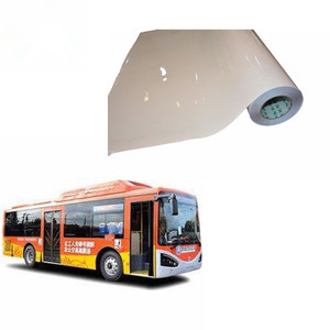 hight quality self adhesive vinyl for bus printing