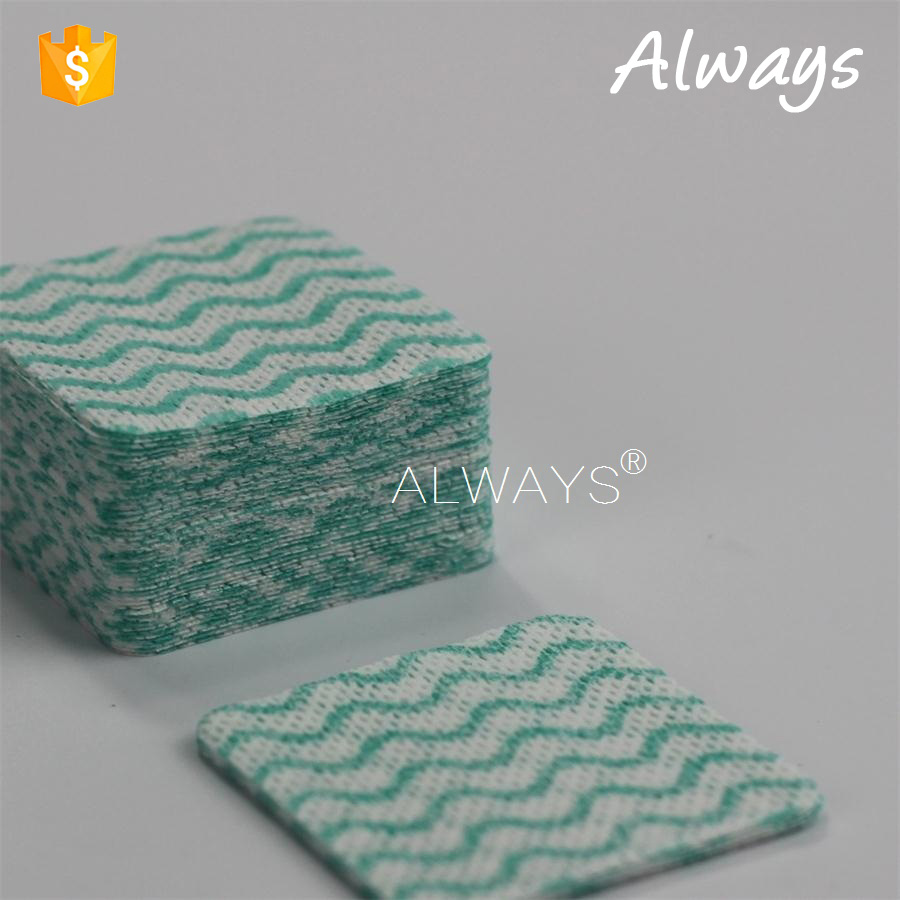 China Top Sale small Roll Spunlance Nonwoven household Cleaning cloths