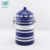 Food grade multi-functional colored house shape sugar coffee tea storage canister
