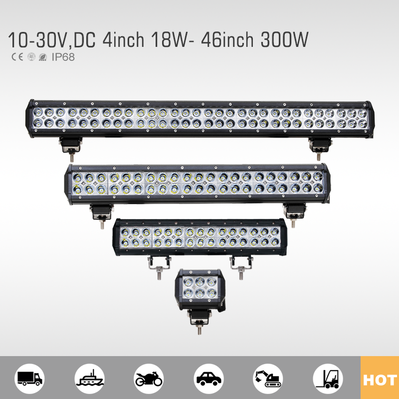 Factory price best seller led light bar auto tuning for car
