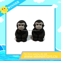 3d Monkey Animal Erasers