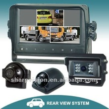 "7"" backup camera system with VGA monitor / touch screen&touch buttons"