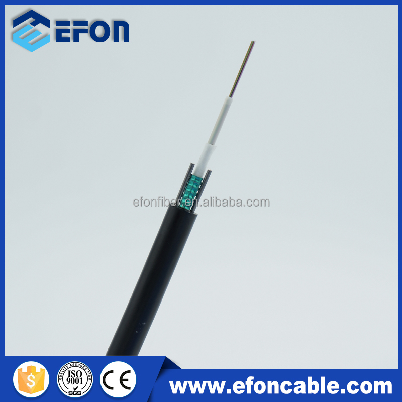 Outdoor Armoured 12Core Corning Optical Cable/SM Fiber Optic Cable