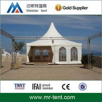 Aluminum square pagoda tent easy to install
