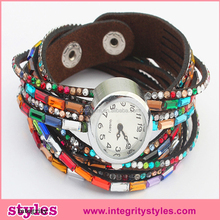 Hot Sale 2015 Rhinestone Trendy Beauty Fashion Lady Watch
