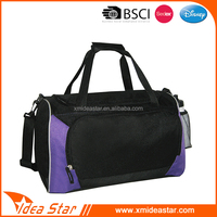 Removable shoulder strap large capacity custom sport bag logo