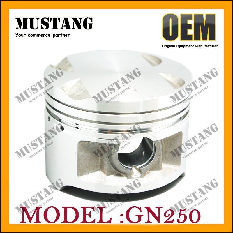 Factory Export Products for Suzuki motorcycle piston GN250 engine parts