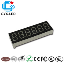 Hot sale 0.56 inch 7 segment 6 digits led display