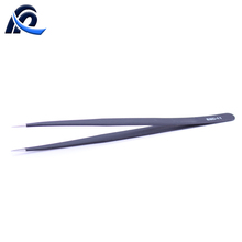 Stainless Steel Cleanroom ESD Tweezers With Non-Magnetic Tips