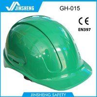 high quality 5 vents ANSI&CE shell breathable factory safety helmets