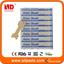 2014 new product anti snoring nasal strips with oem service for health