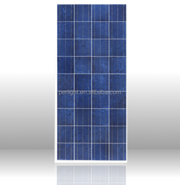 cheap price poly crystalline solar panel 130w 12v 130w pv panel