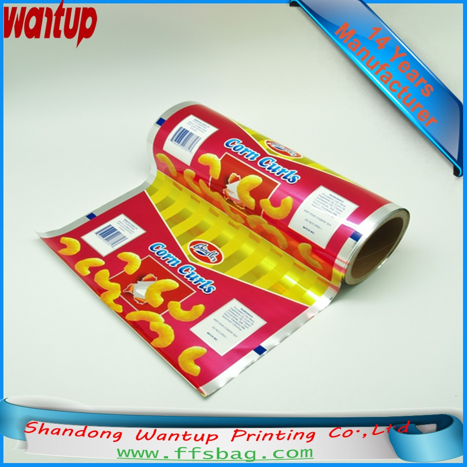 wholesale bopp/vmpet/pe candy plastic packaging FILM For Auto Packaging
