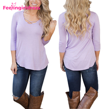 New Style Women Blank Purple Readymade African Blouses