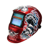 Auto darkening mask fashion style welding helmet