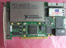 NI PCI-6031E Data acquisition card DAQ Card 100% tested working DHL EMS free shipping