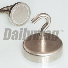 Magnetic Wall Hook Rare Earth Magnet Hooks Neodymium Magnet Hook 40 Pounds