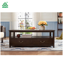 Hotsale cheap modern ebony wood coffee table design for Living Room Furniture coffee table
