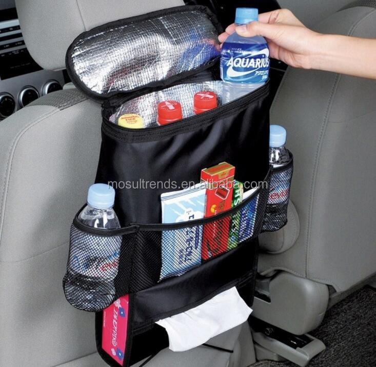 Insulation Features Car Back Seat Organizer Storage Box