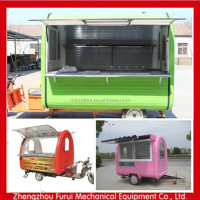 2014 new design electric mobile food van for wine/coffee/popcorn/juice kiosk