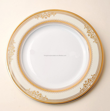 customized wholesale bone china cheap white dinner plates for restaurant