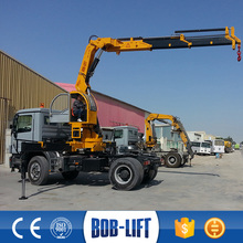 Articulated Knuckle Boom Building Crane Truck