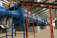 Cow Manure dryer for granulation production line for sale in China