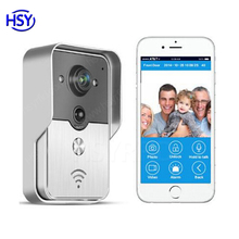 Wholesaler Price 2016 smart home system Wireless video WiFi doorbell via Android iOS App
