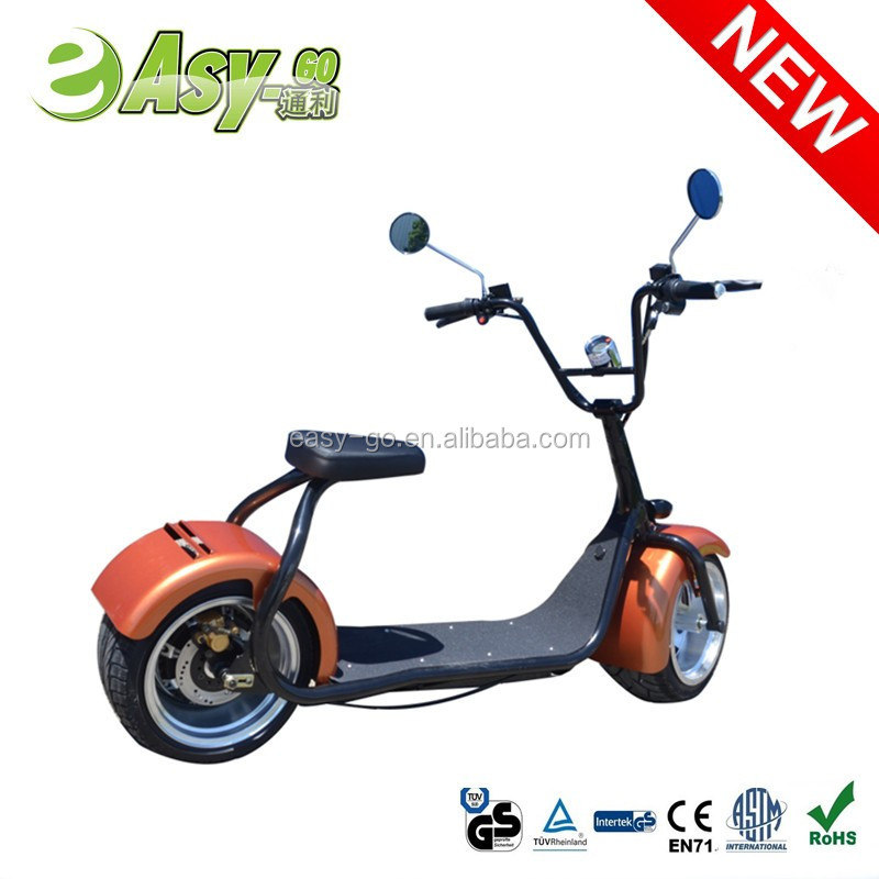 Newest popular Harley style fashion 800w/1000w kawasaki electric motorcycle for adults citycoco electric scooter