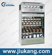 Super capacitor banks power factor correction outdoor type using saved power