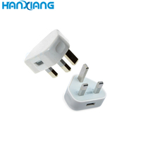 Universal laptop single usb wall charger wiht uk plug wall usb charger 5v 1a for Iphone