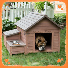 Environmental High End Quality-Assured Outside Wooden House Dogs