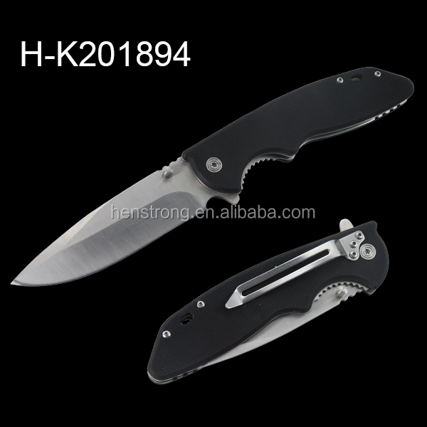 User-friend semi-automatic italian stiletto pocket knife