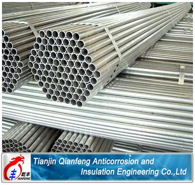 ASTM A53 galvanized steel pipe for gas/oil/water service