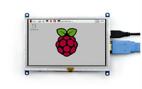 Raspberry Pi LCD with Resistive Touch for All Rev of Rpi 3 A/A+/B/B+/2 B