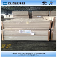 Non asbestos sheet cement fiber panel CE approved clasee A1